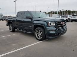 100 Sierra Trucks For Sale PreOwned 2017 GMC 1500 SLT Pickup For 495428A BMW Of