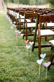 Diy Outdoor Wedding Decorations Cool Aisle On Table Decor With