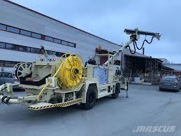 100 Concrete Pump Trucks Used Normet Spraymec 8100 Til Leie Concrete Pump Trucks Year 2018