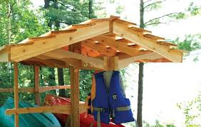 free canoe boat rack wood plans