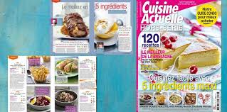guide cuisine recettes hors série cuisinez facile avec 5 ingrédients maxi cuisine