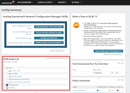 Solarwinds Web Help Desk Reports by Determine Which Nodes Are Managed By Ncm Solarwinds Worldwide