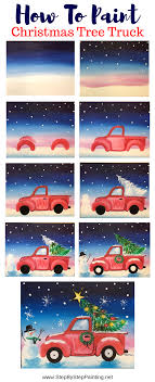 100 How To Paint A Truck Christmas Tree Step By Step Ing