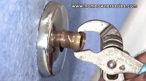 Faucet Handle Puller Tool by How To Fix A Toilet Compression Ring Removal Youtube