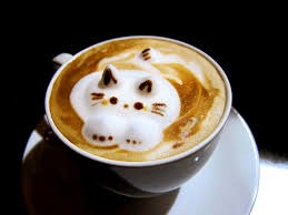 The Waiter Asked If I Would Like Cat Or Bear Design For My Cappuccino And As A Lover Am Chose Latte Art Without Second Thought