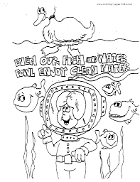Colouring Pages For Environment The