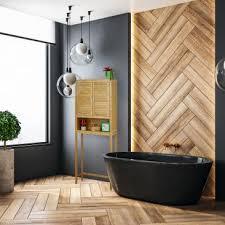 badezimmerschrank bambus der lamell serie fürs bad