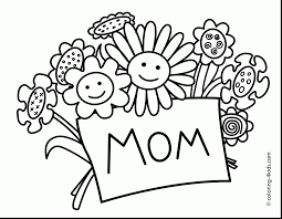 Fantastic Mothers Day Coloring Pages Printable With Labor And Page
