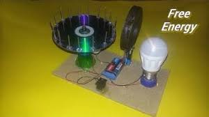 free energy generator magnetic motor with magnetic bearings