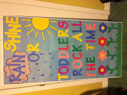 Preschool Classroom Decor Kindergarten Instead Of Toddlers My Class Ideas Spring Door Decorations For