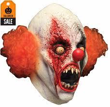 Evil Clown Pumpkin Stencils by Licensed Ash Vs Evil Dead Demon Spawn Mask Mad About Horror Horse