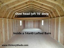 Old Hickory Buildings And Sheds by Old Hickory Sheds Lofted Barn Wash