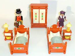 playmobil nostalgie rosa puppenhaus 1900 5319 schlafzimmer
