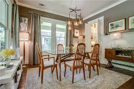 Dining Room with Wainscoting & Pendant Light in DALLAS TX