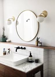 30 rubbed bronze metal framed mirror