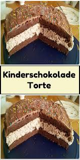 kinderschokolade torte kinderschokolade leckere torten