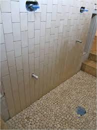 bathroom cozy remodelling bathroom shower design with pebbles