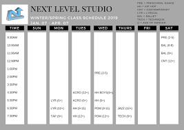 100 Next Level Studios Classes Studio