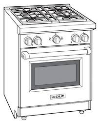 Wolf GR304LP 30 Inch Stainless Steel Gas Freestanding Range With