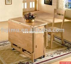Oak Folding Table And Chairs