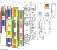 Carnival Pride Deck Plans 2015 by Cruise Deck Planscom Radnor Decoration