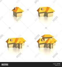 100 Four Houses Icons Image Photo Free Trial Bigstock