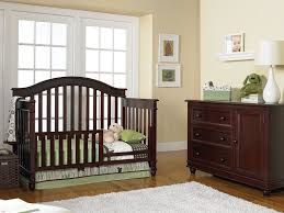 Crib To Toddler Bed Conversion Kit by Europa Baby Palisades Convertible Crib Classic Cherry