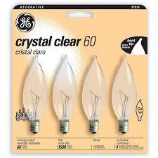 ge 60w 120 volt incandescent light bulb pack of 4 reviews