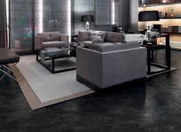 Lino 4m Ebay Amazing Of Black Vinyl Flooring Sheet In Living Room With Modern Brown Sofa