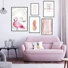 details zu poster gold 5er set mit bilderrahmen design wandgalerie deko bild druck