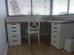 Micke Corner Desk Ikea Uk by Simple Functioning Desk I Would Just Swap Out One Side Of