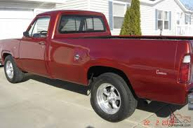 100 How To Drive A Pickup Truck 1976 Dodge Custom 12 Ton Pickup Truck Drive Body Frame Off Restore