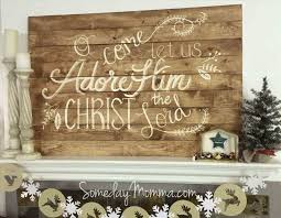 Wood Outdoor Maybe For The Back Deck Pallet Painting Ideas Christmas Tree