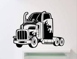 100 Semi Truck Interior Amazoncom Big Wall Decal Automobile Monster Car