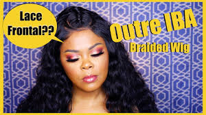 OUTRE IBA BRAIDED WIG REVIEW & DEMO | PERFECT HAIRLINE | DIVATRESS.COM