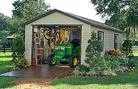 Backyard Sheds Jacksonville Fl by Smithbilt Bull Sheds In Central Florida
