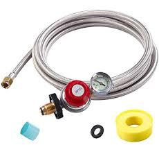 sonstige king kooker stainless steel gas line hose and