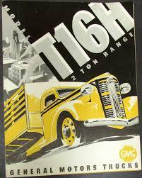 100 Two Ton Truck 1937 1938 GMC Model T16H Range Original Sales
