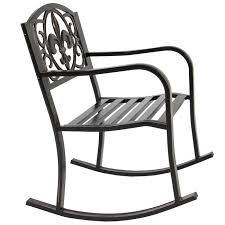 Patio Metal Rocking Chair Porch Seat Deck Outdoor Backyard Glider Rocker 1960s Rocking Chair In Red Plastic Strings On Black Metal Frame Wicker Grey At Home Details About Lawn Rocker Patio Fniture Garden Front Porch Outdoor Fleur Chairs Coffee Table Mesh Rare Salterini Radar Wrought Iron Scrollwork Design Decorative Deck Monceau Chair For Outdoor Living Space Staton Amazonin Kitchen Amazoncom Mygift Dark Brown Woven Metal Patio Rocking Chairs Carinsuncerateszipco Hampton Bay Wood