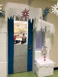 Kindergarten Winter Door Decorations by Winter Wonderland Classroom Door Decoration I Had Many Styrofoam