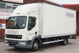 7.5 Ton Truck Rental - Howarth Brothers - Oldham Manchester