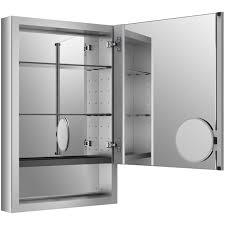 Kohler Tri Mirror Medicine Cabinet by 15 Bernstein Surface Mount Deco Aluminum Medicine Cabinet Bathroom