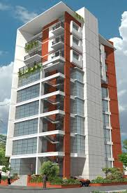 100 Bangladesh House Design One Basement9 Storied Residential Cum Commercial Building Located
