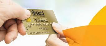 plafond debit carte visa carte visa premier bci banque calédonienne d investissement