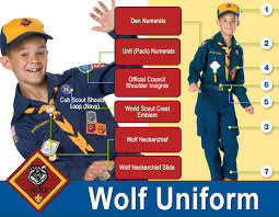 Cub Scout Committee Chair Patch Placement by Wolves Cub Scouts Pack 10