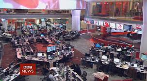 Located In The Heart Of Newsroom Studio E Is First A Long Time To Feature Real Background For BBC Previously News