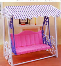 Fashion Swing set for Barbie doll American girl doll toy house
