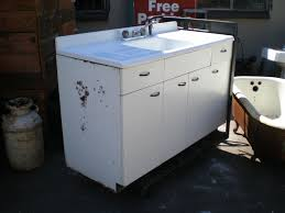 Vintage Youngstown Kitchen Sink Cabinet by Vintage Kitchen Sink Cabinet Interior Design
