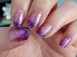 Glitter nail designs for short nails how you can do it at home