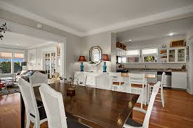 Seattle Queen Anne Puget Sound View Real Estate For Sale Dining Room Living Kitchen Open
